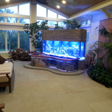 Custom-Made Aquariums by Living Art Aquatics